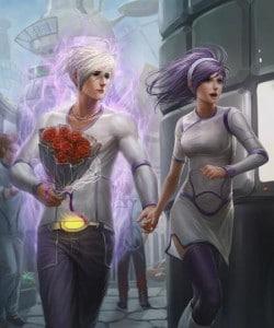 uzay çağında aşk